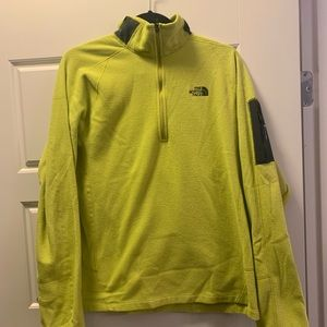 Men's The North Face fleece pullover large